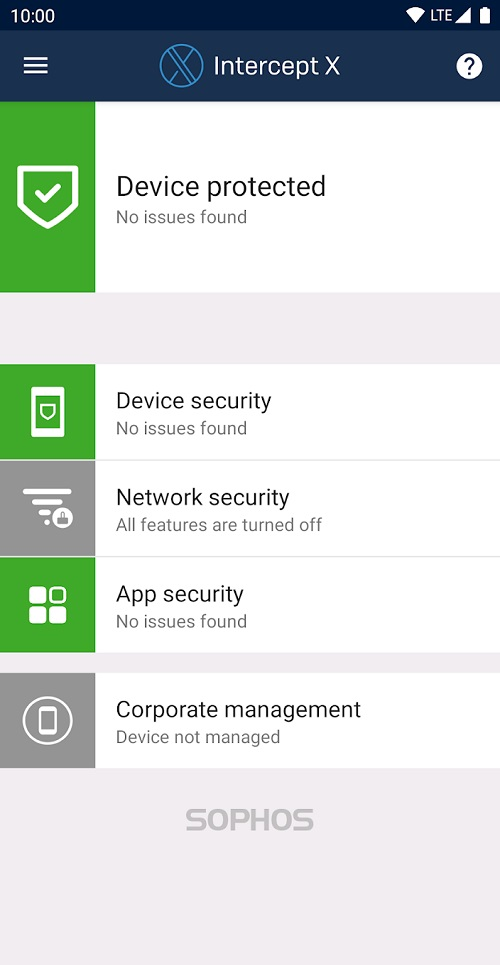 Sophos Mobile Security antivirus android gratis