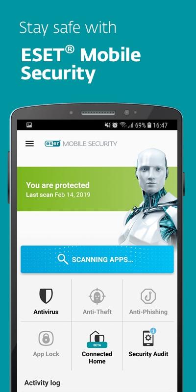 Eset antivirus gratis android