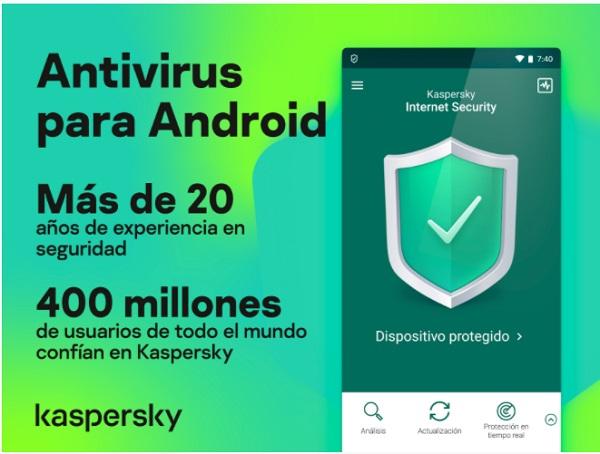 Kaspersky antivirus android gratis